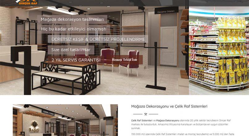 Dinçer Raf- Mağaza Dekorasyonu ve Çelik Raf Sistemleri