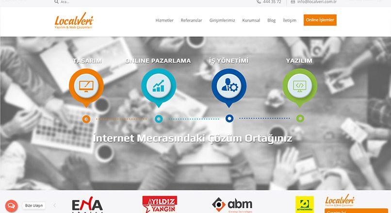 İzmir Web Tasarım Ajansı – Localveri Yazılım