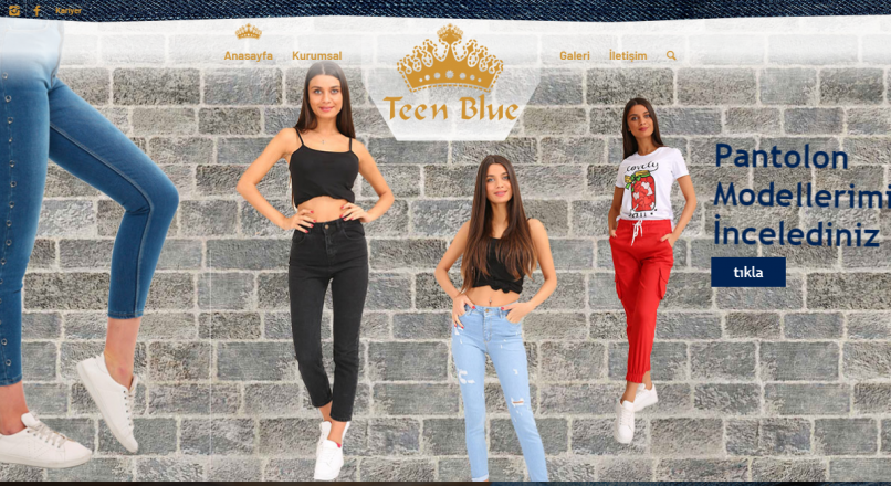 Teen Blue Hazır Giyim