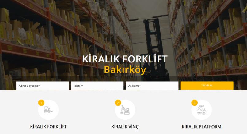 Forklift Kiralama İstanbul