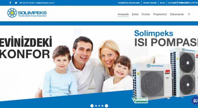 Solimpeks Güneş Enerjisi Sistemleri – Fotovoltaik Sistem – Isı Pompası