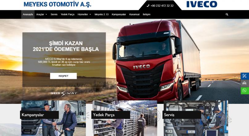 Meyeks Otomotiv Iveco Yetkili Servisi ve Satışı